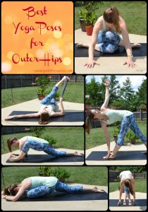 best yoga poses for outer hips pinterest collage