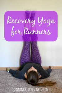 Recovery poses for runners: 5 easy poses to help you recover from your runs.