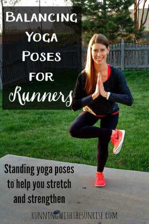 balancing yoga poses for runners