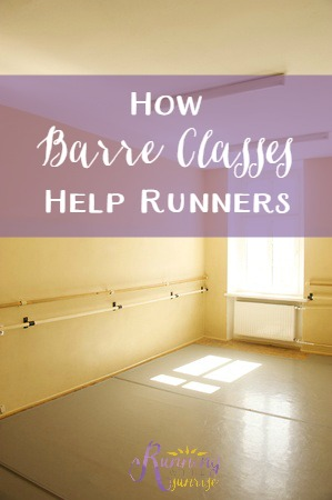 How barre classes help runners: why runners should try barre classes to help make them better runners.