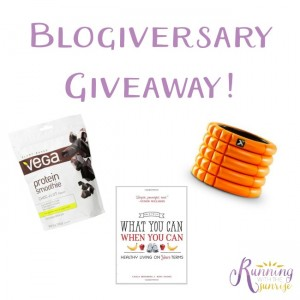 blogiversary giveaway collage