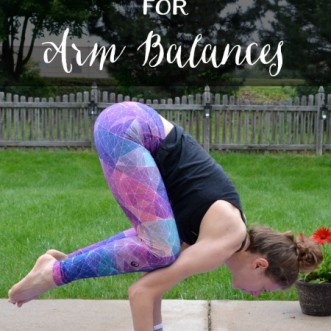 Building Strength for Arm Balances