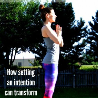 Intention Setting and Yoga