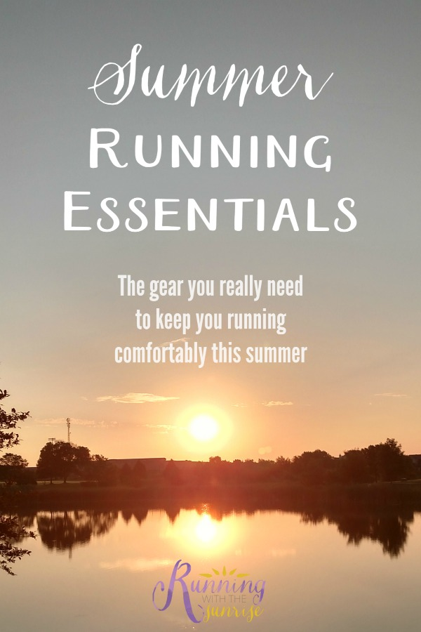 Summer running essentials: the gear that you really need to help you run comfortably this summer.