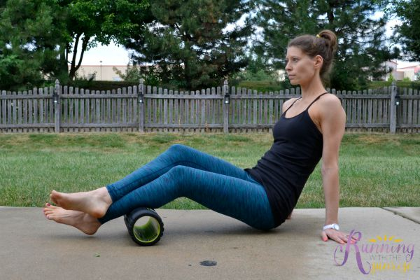 foam rolling basics: rolling out calves