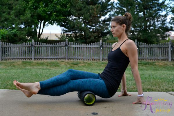 foam rolling basics: rolling out hamstrings