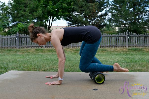 foam rolling basics: rolling out shins