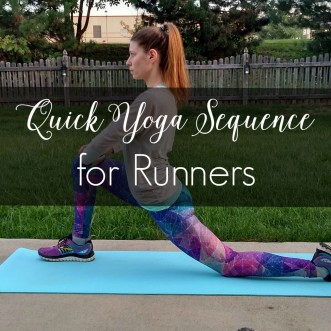 Quick Yoga Sequence for Runners