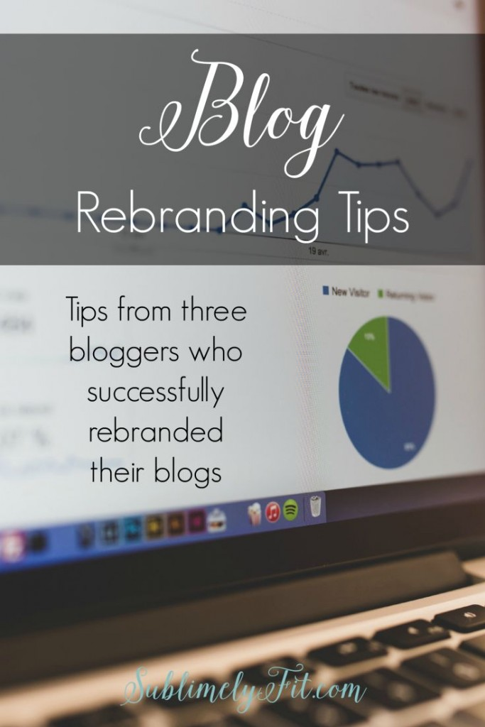 Blog rebranding tips: tips from three bloggers who successfully rebranded their blogs.