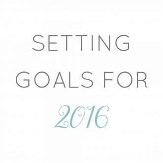 Monday Motivation: Set Your Goals for 2016