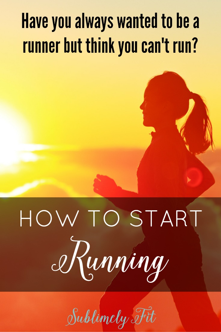 How to start running: Have you always wanted to start running but think you can't run? Read the top five things that you can do to help yourself get started on your running journey.