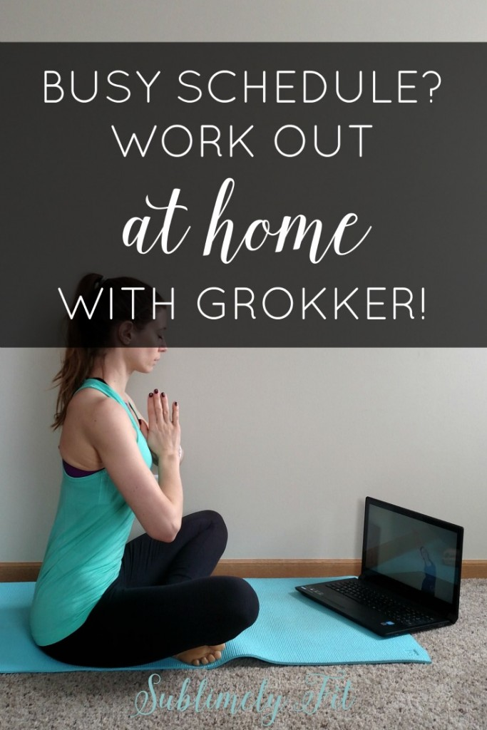 Too busy to make to the gym? Read why Grokker is a great way to stay fit at home. Plus learn how you can try Grokker for two weeks for free, and get 40% off a Premium membership! #WORKOUTATHOME #FitFluential