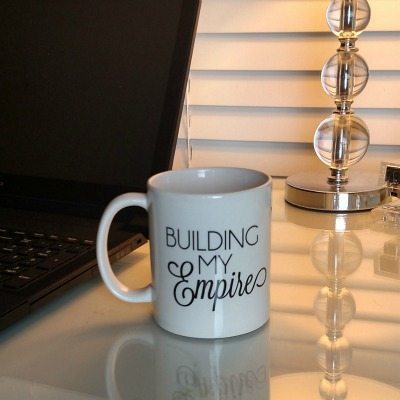 building my empire mug