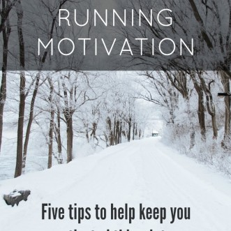 My Winter Running Motivation