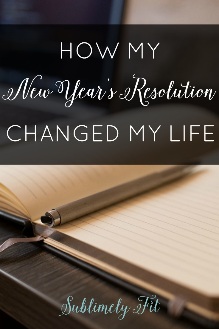 I made and stuck with a New Year's Resolution in 2011 that has completely transformed my life, helping me become a healthier, happier person. Read about my journey!
