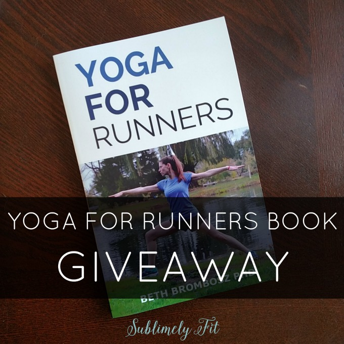 Yoga for Runners Book Giveaway. Ends 1/26/16