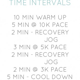 Easy Treadmill Speed Workouts