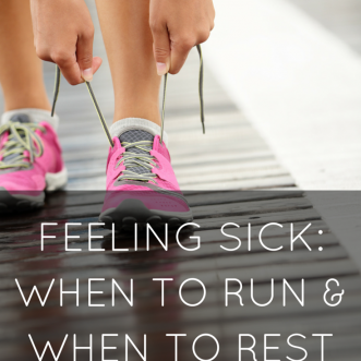 Feeling Sick: When to Run and When to Rest
