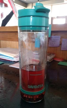 For my fellow David's Tea fans: Magic Dragon is really good iced!