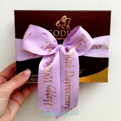 1000th dayiversary chocolates