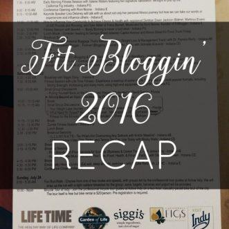 FitBloggin' 2016 Recap