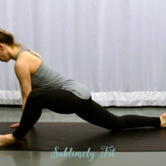 Yoga Poses for Runners' Hips