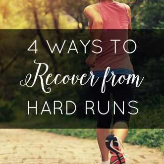 4 Ways to Recover from Hard Runs