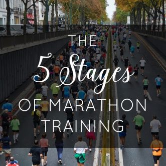 The 5 Stages of Marathon Training