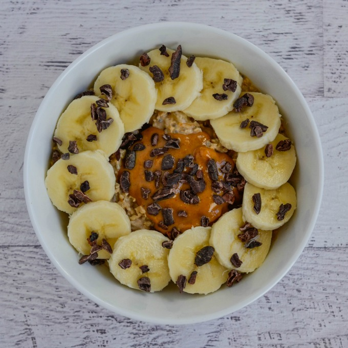 This simple Peanut Butter Banana Overnight Oats recipe is easy to make and is amazingly delicious. Save time but still have a hearty, healthy breakfast!