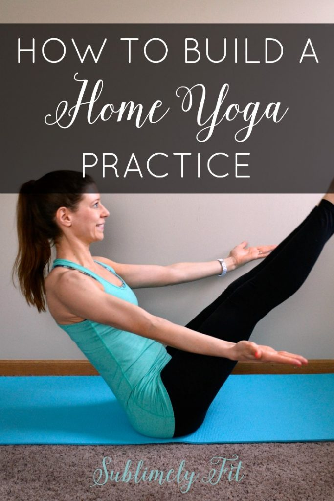 How do you build a home yoga practice? These tips will help you deepen your yoga practice by getting the most out of the yoga you do at home.