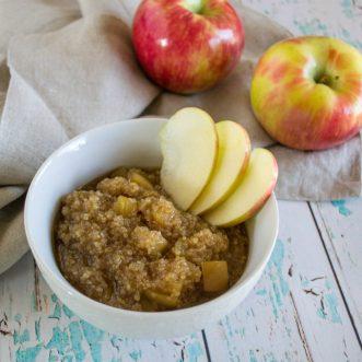 Maple Apple Breakfast Quinoa