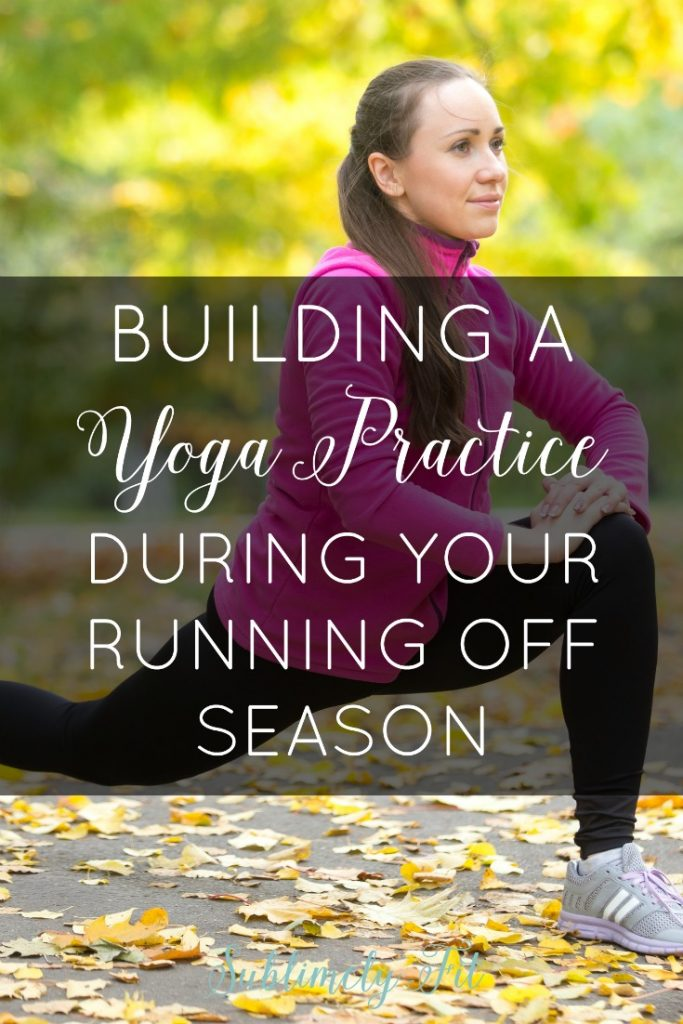 Did you just finish a race? Now's a great time to start doing yoga! Learn how to build a yoga practice during your running off season in this article.
