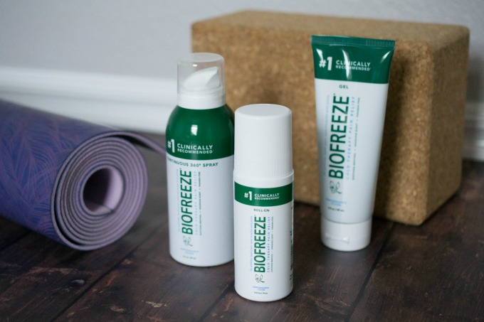 Feeling sore after your latest workout? Here are 5 great tips to help relieve muscle soreness! Plus, catch a review of the Biofreeze® products.