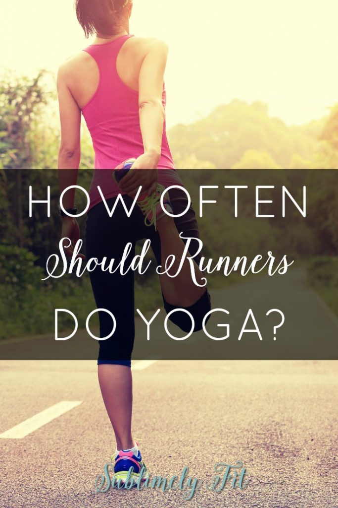 How often should runners do yoga to see progress with strength or flexibility? Learn more from yoga teacher and running coach Dr. Beth Brombosz.